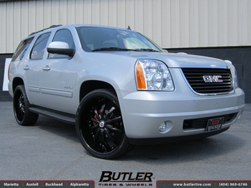 GMC Yukon with 26in Lexani LSS10 Wheels