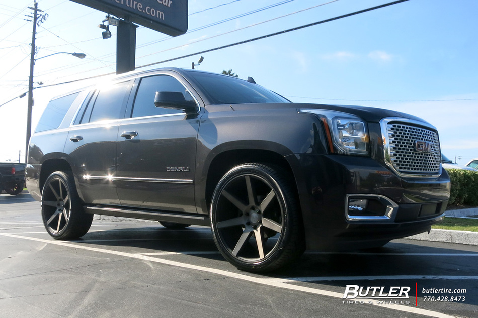 GMC Yukon Denali with 24in DUB Future Wheels exclusively ...