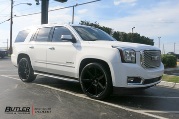 GMC Yukon Denali with 24in Niceh Future Wheels