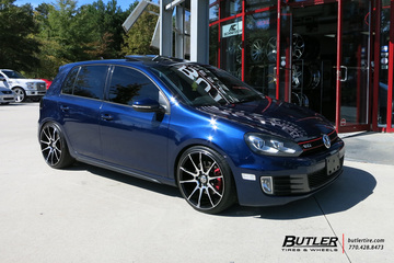 Golf GTI with 19in Savini BM12 Wheels