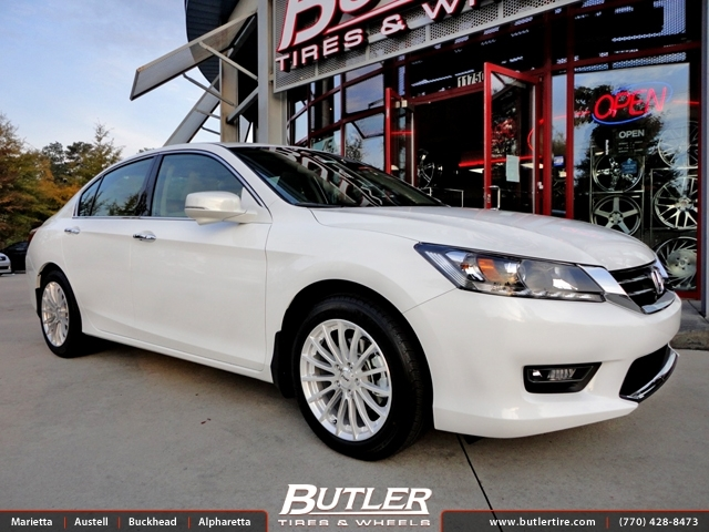 Honda Accord with 17in TSW Mallory Wheels