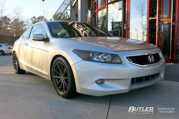 Honda Accord with 18in TSW Bathurst Wheels