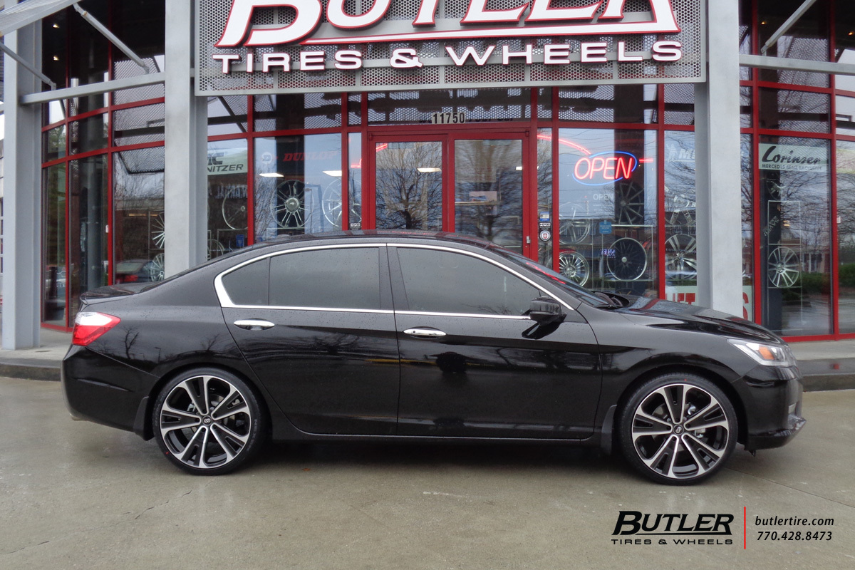 Honda Accord With 20in Enkei Svx Wheels Exclusively From Butler Tires