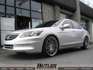 Honda Accord with 20in Lexani CVX 44 Wheels