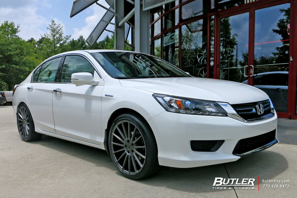 Honda Accord with 20in Niche Form Wheels exclusively from Butler Tires and Wheels in Atlanta, GA ...