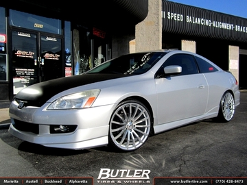 Honda Accord with 20in TSW Mallory Wheels