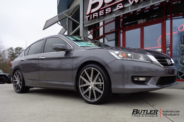 Honda Accord with 20in TSW Rouge Wheels