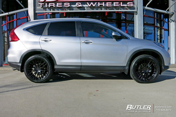 Honda CRV with 20in TSW Max Wheels