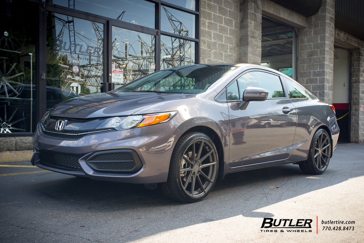 Honda Civic With 19in Tsw Bathurst Wheels Exclusively From
