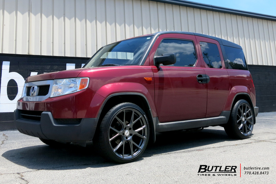 Honda Element with 20in Vossen VFS6 Wheels exclusively ...