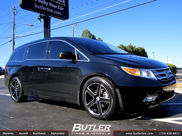 Honda Odyssey with 20in TSW Rivage Wheels