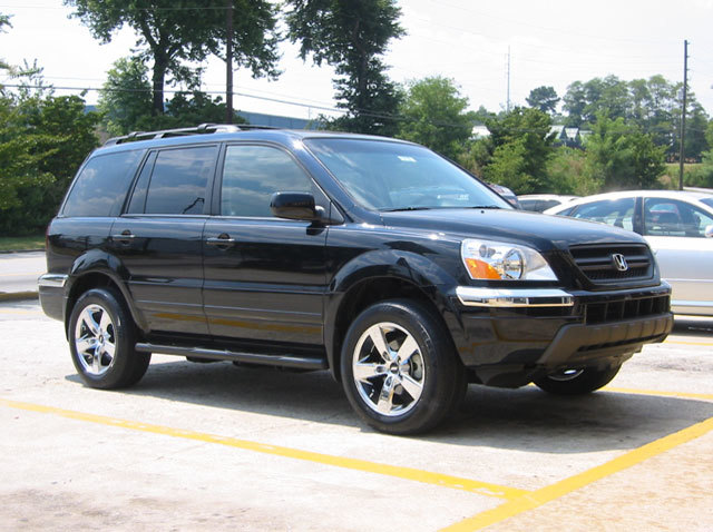 Honda Pilot with 18in TSW Q5 Wheels