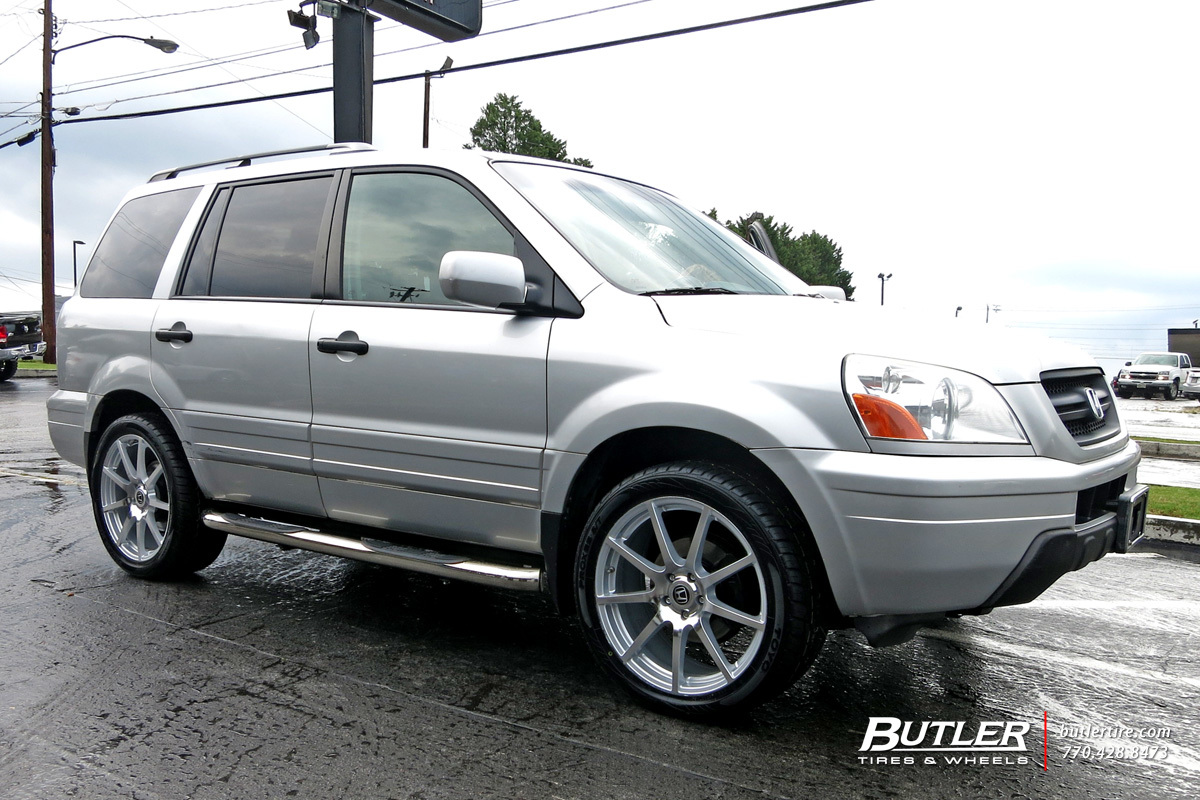Honda Pilot with 20in TSW Interlagos Wheels