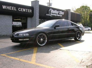 Honda Prelude with 18in Axis Se7en Mod Wheels