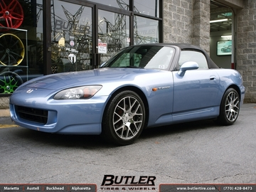 Honda S2000 with 17in TSW Nurburgring Wheels