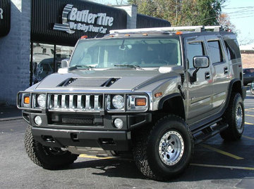 Hummer H2 with 17in Axis Regulator Wheels