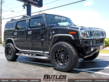 Hummer H2 with 20in Fuel Boost Wheels