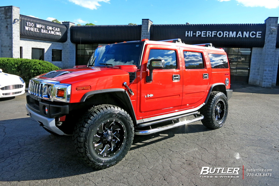 Lexus Of Atlanta >> Hummer H2 with 20in Fuel Cleaver Wheels exclusively from ...