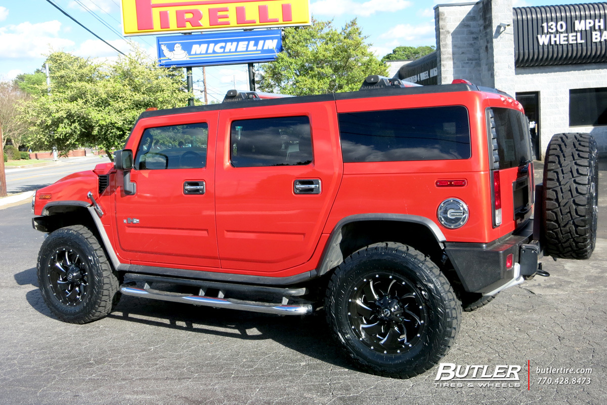 Hummer H2 with 20in Fuel Cleaver Wheels