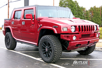Hummer H2 with 20in MB Motoring TKO Wheels