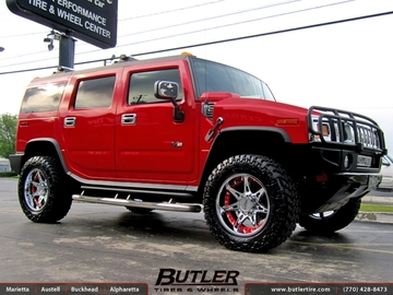 Hummer H2 with 20in Moto Metal 961 Wheels