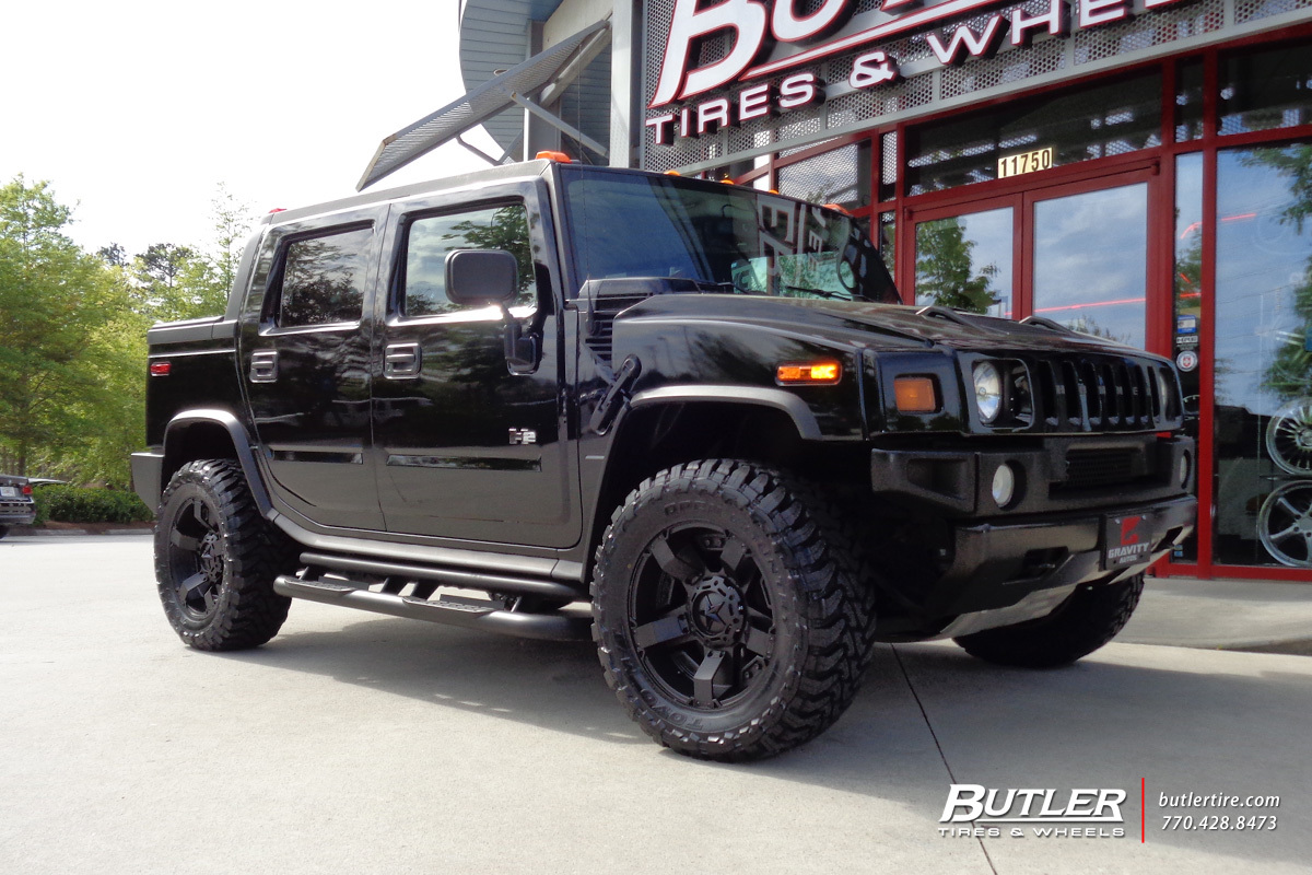 Hummer H2 With 20in Xd Rockstar Ii Wheels Exclusively From