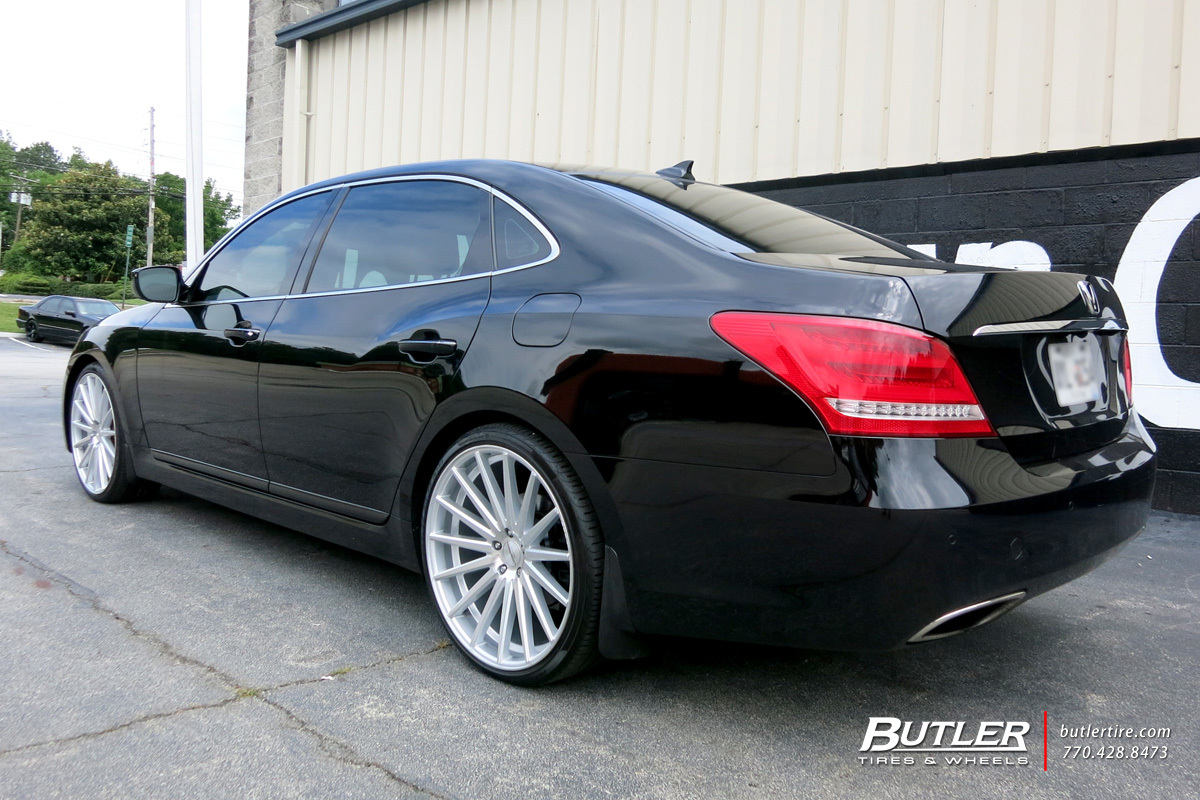 Hyundai Equus With 22in Vossen Vfs2 Wheels Exclusively