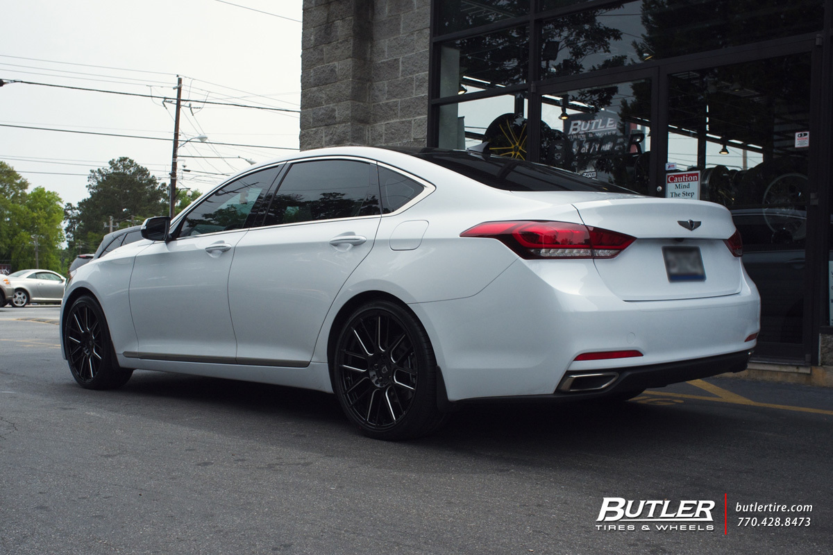 Hyundai Genesis with 20in Lexani CSS8 Wheels