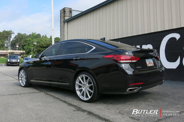 Hyundai Genesis with 20in Niche Essen Wheels