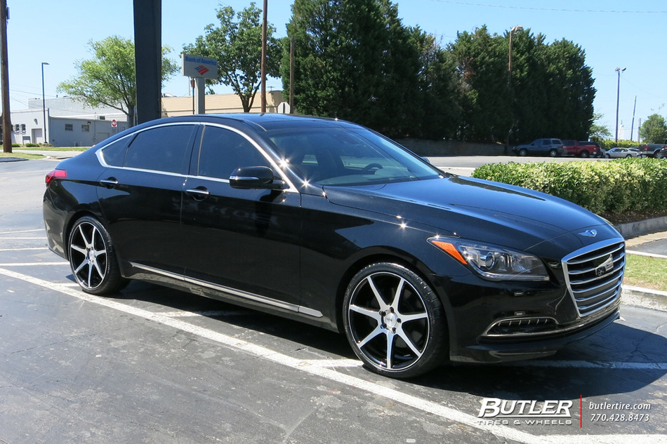 Hyundai Genesis with 20in Savini BM10 Wheels exclusively ...