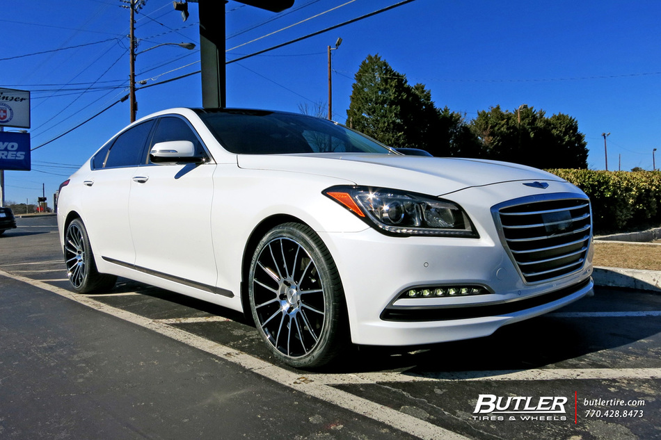 Hyundai Genesis with 20in Savini BM9 Wheels exclusively ...