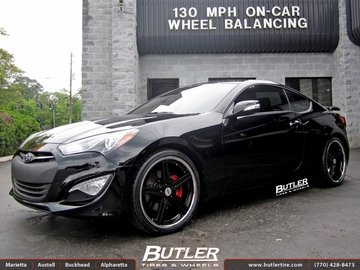 Hyundai Genesis with 20in TSW Mirabeau Wheels