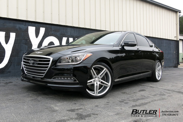 Hyundai Genesis with 20in Vossen CV5 Wheels