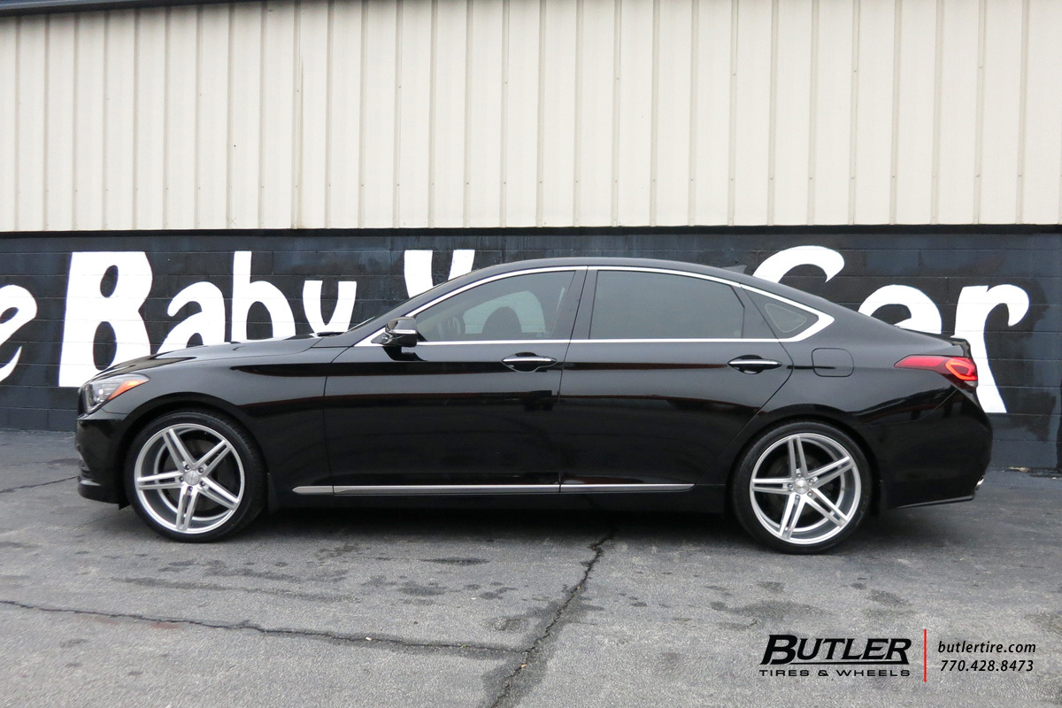 Hyundai Genesis with 20in Vossen CV5 Wheels exclusively from