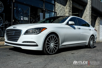 Hyundai Genesis with 20in Vossen VFS2 Wheels
