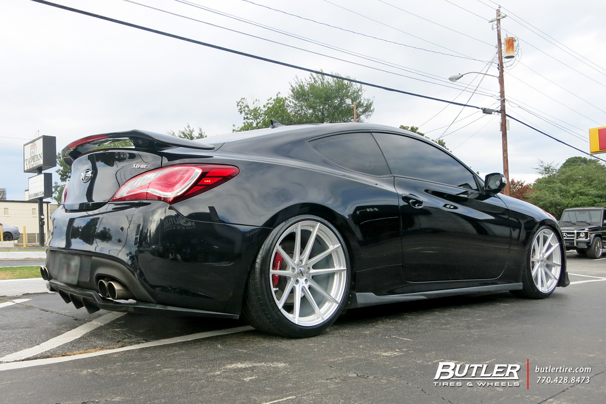 Hyundai Genesis Coupe with 20in TSW Bathurst Wheels ...