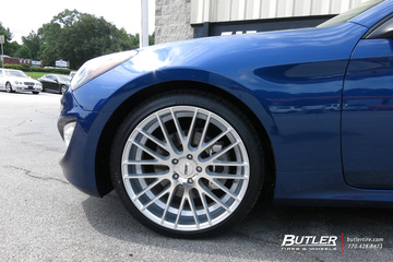 Hyundai Genesis Coupe with 20in TSW Parabolica Wheels