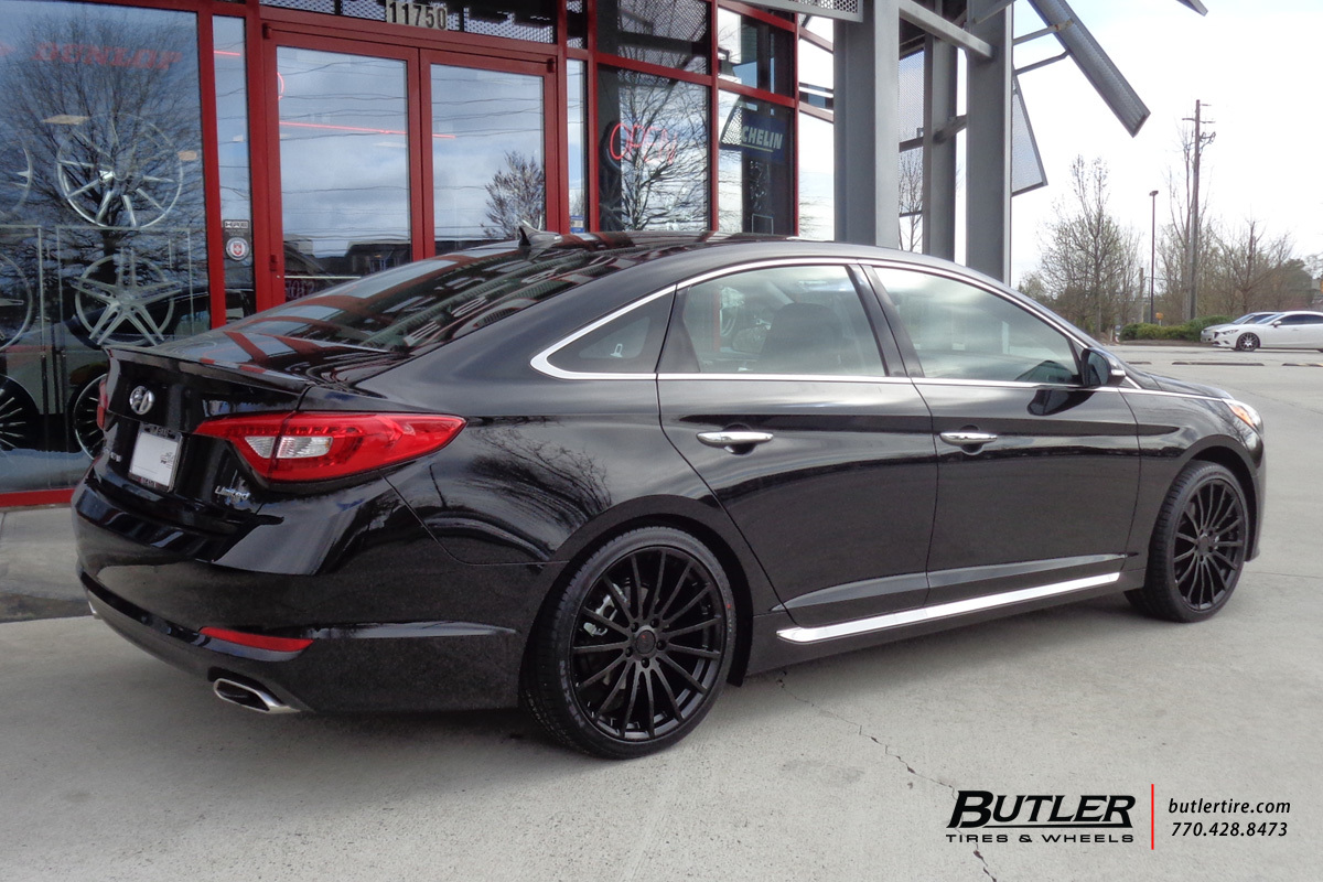 Hyundai Sonata With 19in Tsw Mallory Wheels Exclusively
