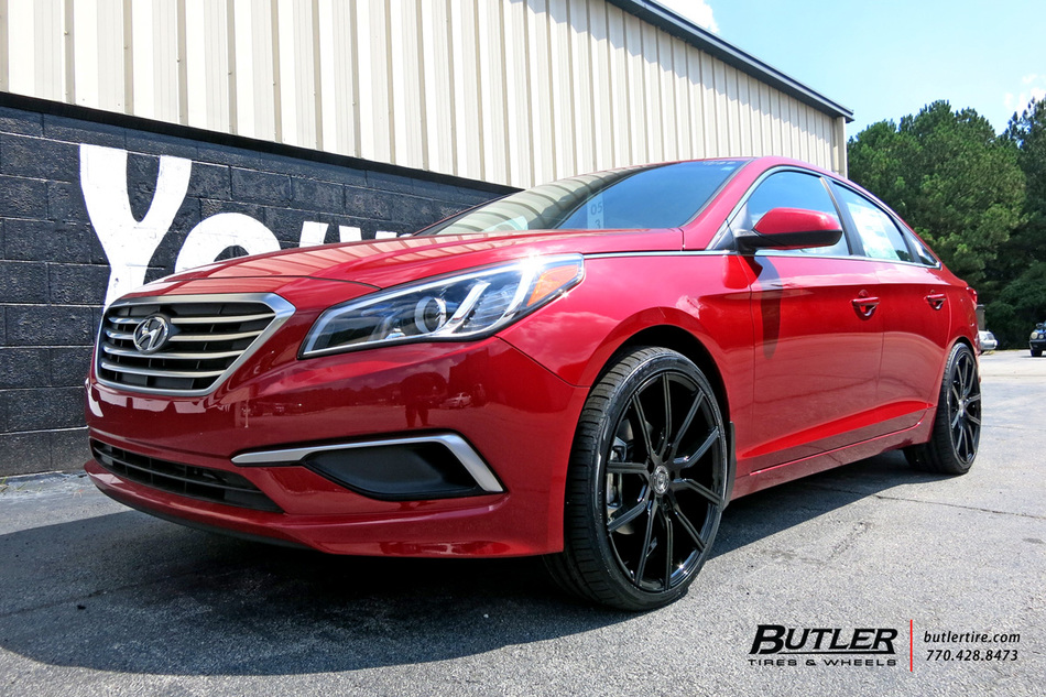 Hyundai Sonata With 20in Lexani Gravity Wheels Exclusively