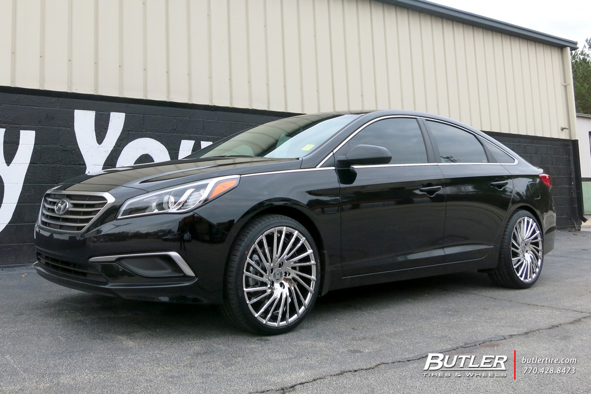 Hyundai Sonata With 20in Lexani Wraith Wheels