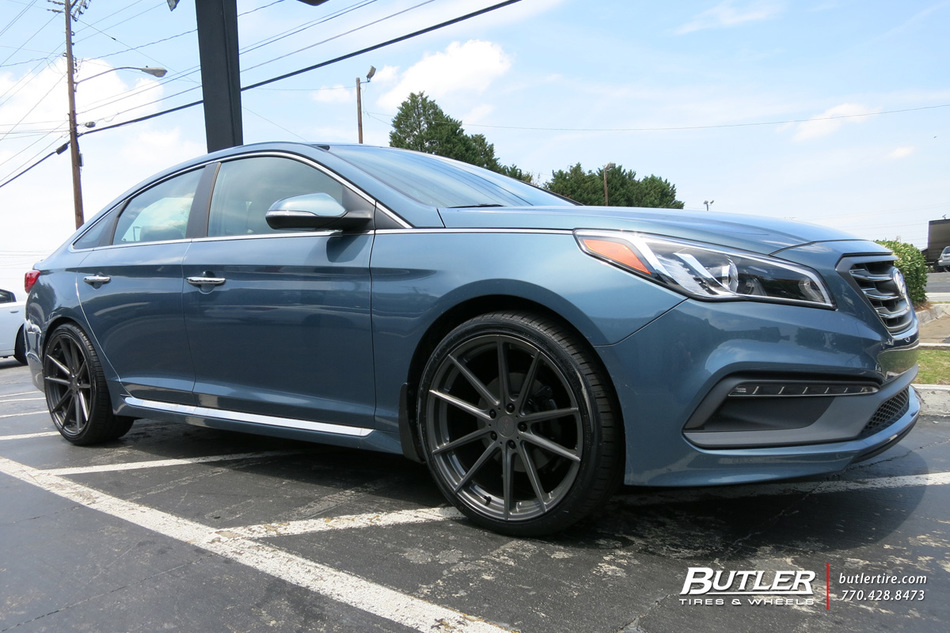 Hyundai Sonata With 20in Tsw Bathurst Wheels Exclusively