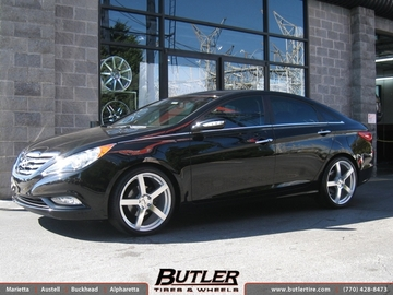 Hyundai Sonata with 20in TSW Panorama Wheels