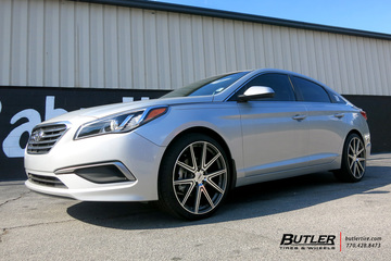 Hyundai Sonata with 20in TSW Rouge Wheels