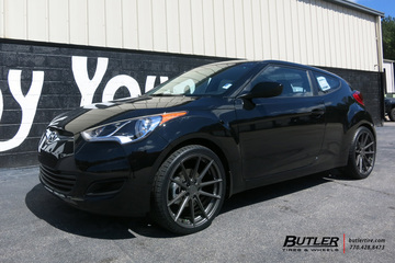 Hyundai Veloster with 19in TSW Bathurst Wheels