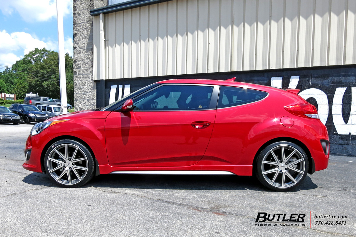 Hyundai Veloster Tires >> Hyundai Veloster with 19in TSW Rouge Wheels exclusively ...