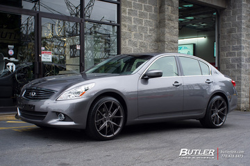 Infiniti G25 with 20in Niche Misano Wheels