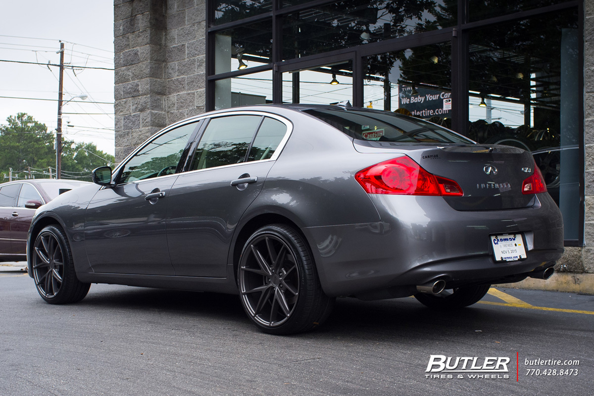 Volvo Of Marietta >> Infiniti G25 with 20in Niche Misano Wheels exclusively from Butler Tires and Wheels in Atlanta ...