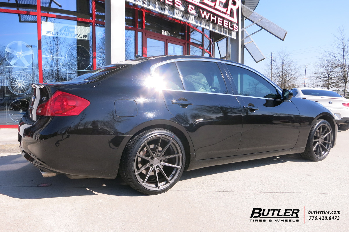 Infiniti G35 With 19in Tsw Bathurst Wheels Exclusively