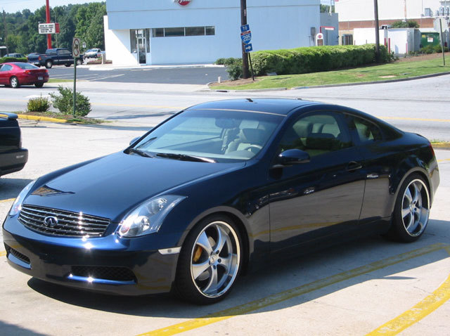 Infiniti G35 with 20in Antera 343 Wheels