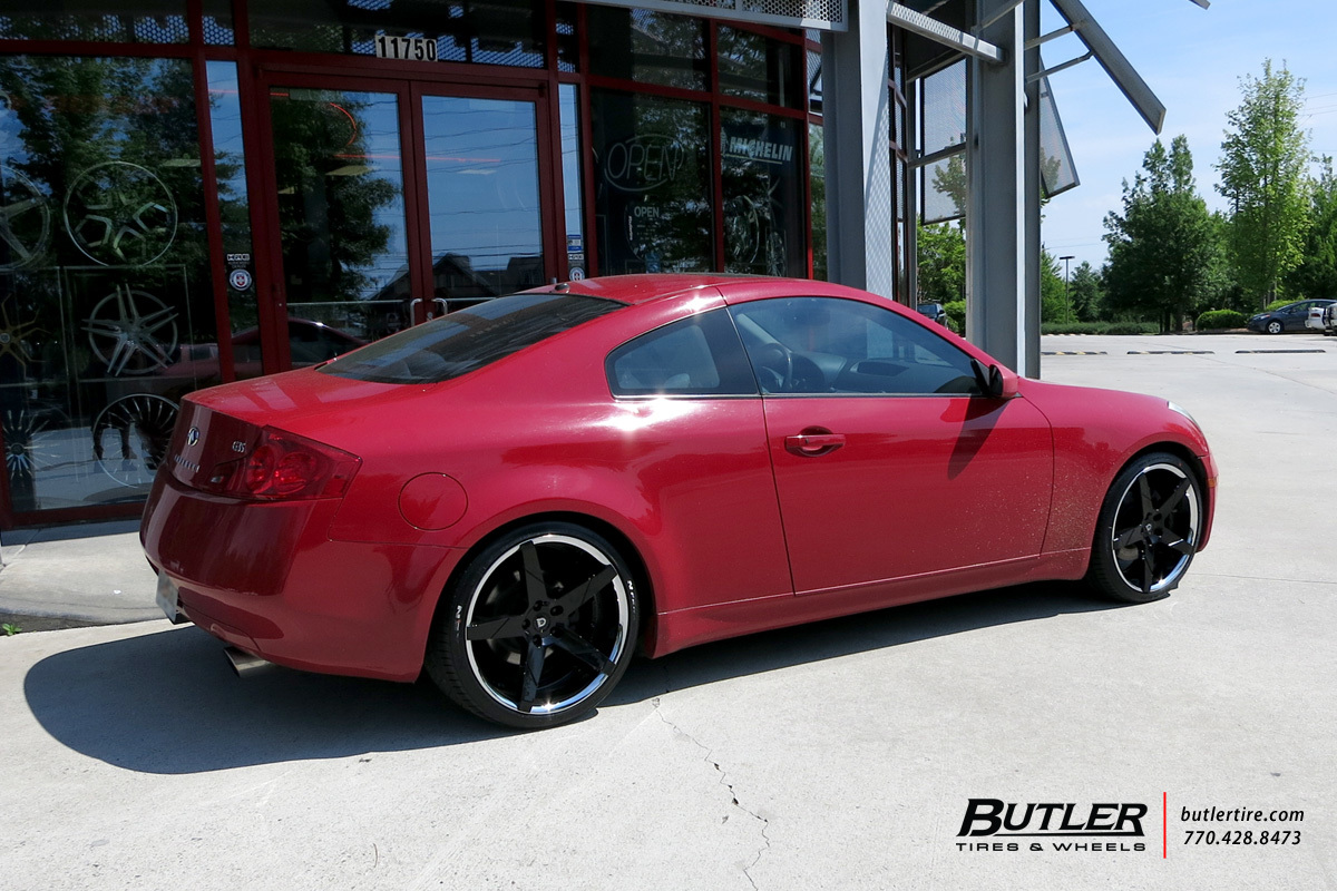 Infiniti G35 with 20in Lexani Invictus Wheels